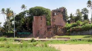 Ruins of Thangassery Fort