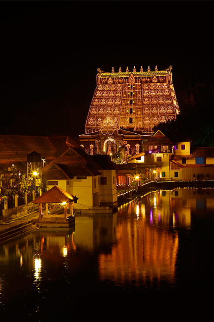 Lakshadeepam at Sree Padamanabhaswamy Temple