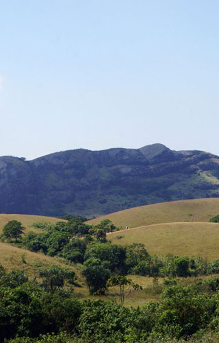 Panoramic view of Wagamon