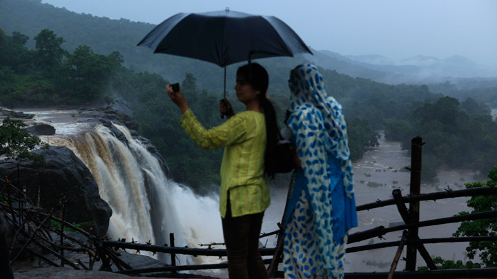 Shoot your film in kerala shooting locations kerala tourism athirappally and vazhachal waterfalls gumiabroncs Images