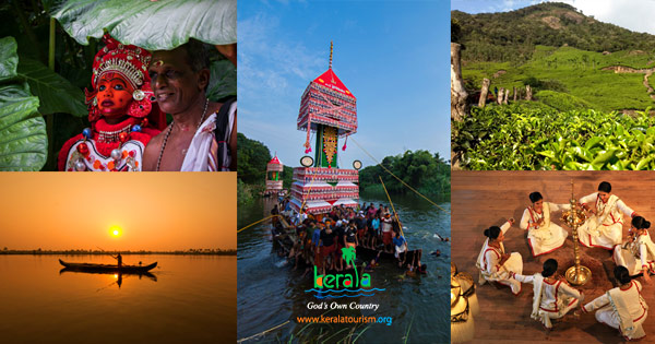 Tourist Destinations of Kerala. Category listing page