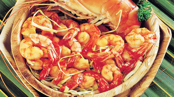 Shrimps sea food shopping kerala tourism india for Cuisine of kerala