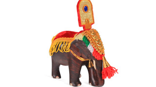 Caparisoned Elephant Model