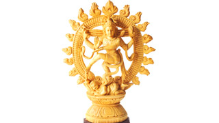 Sandalwood figurine