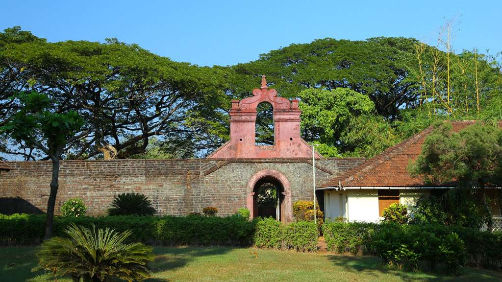 Entrance Thalassery Fort