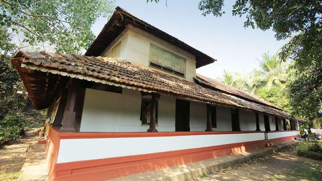 Kottayam Palace side view