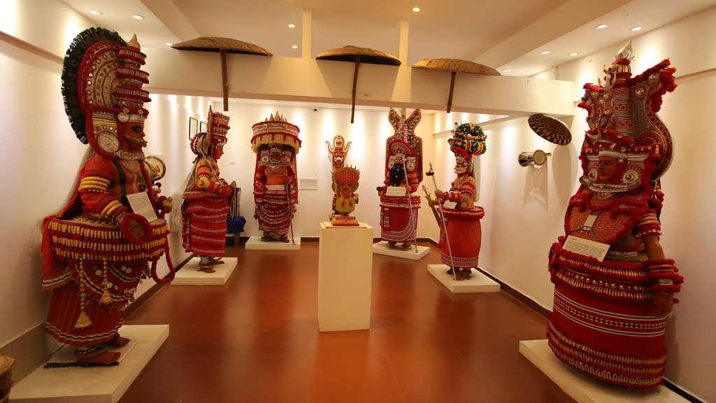 Chirakkal Folklore Museum Theyyam models