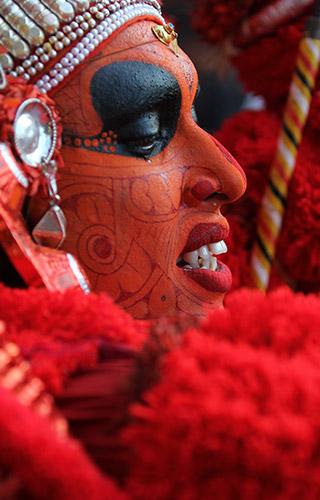 Calendario Theyyam
