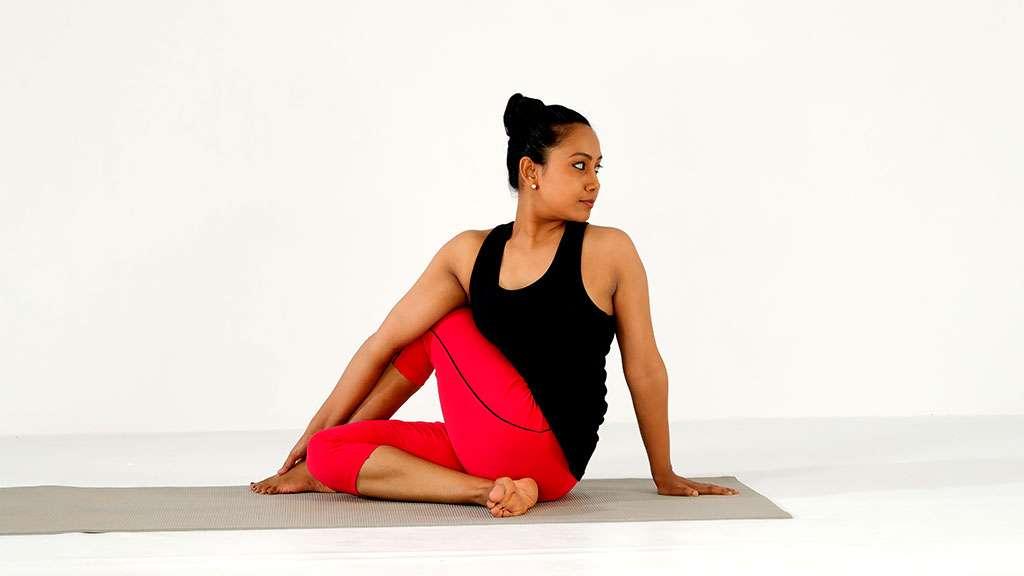Ardha Matsyendrasana - The Spinal Twist