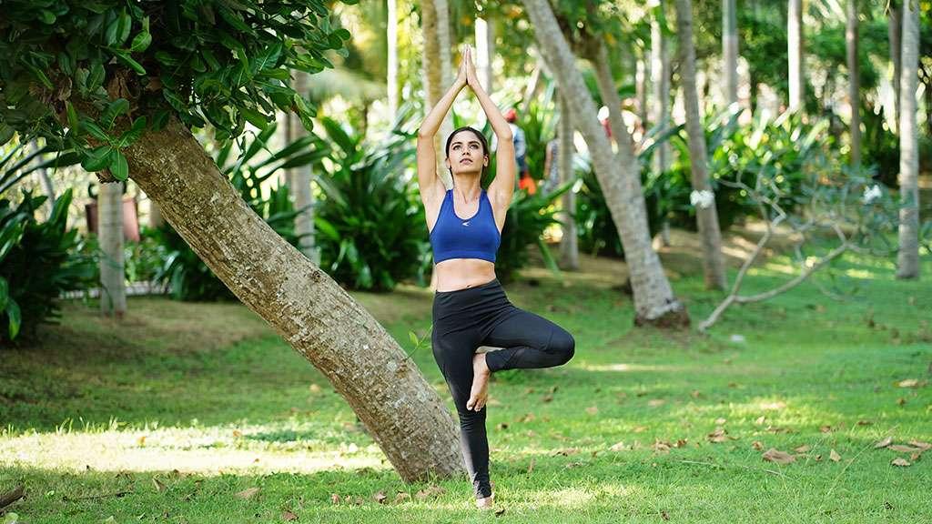 Vrikshasana - The Tree Pose