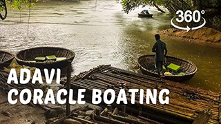 Adavi Coracle Boating | 360° Video