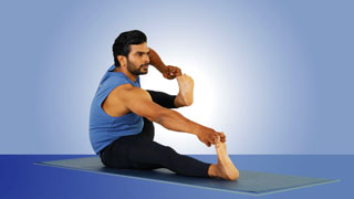 Akarna Dhanurasana - The Shooting bow