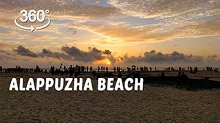 Alappuzha beach  | 360° Video