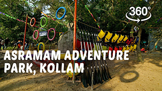 Asramam Adventure Park, Kollam | 360° Video