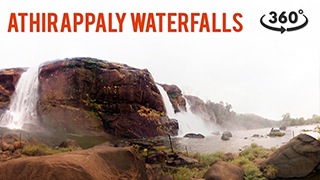 Athirappally Wasserfälle | 360° Videos