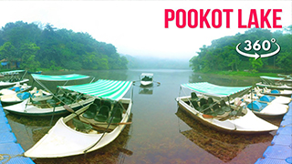 Bootfahrt in Pookot Lake | 360° Video