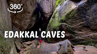 Edakkal Caves | 360° Video