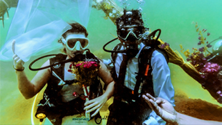 Underwater Wedding at Kovalam