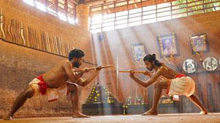 Kalaripayattu, where art meets defence