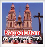 Kappalottam at Kuravilangad Church