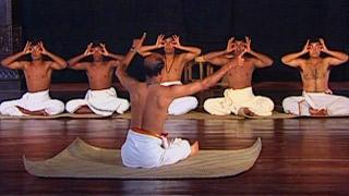 Kathakali training