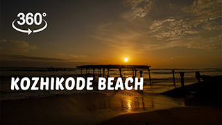 Kozhikode Beach | 360° Video
