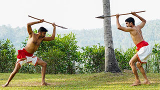 Kuntham fight Demonstration or Spear Fight