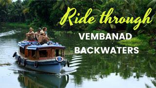 Ride through Vembanad backwaters