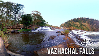 Vazhachal Waterfalls | 360° video