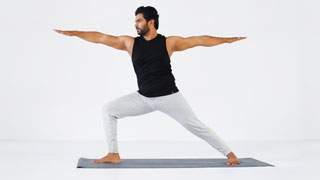 Virabhadrasana - The Warrior Pose
