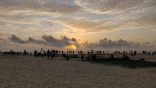 Why not to Alappuzha Beach?