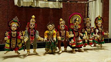Yakshagana Puppet Show