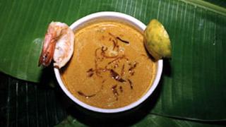 Kaya Attirachi Curry  - a Thalassery dish