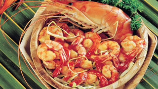 Thalassery Prawns Curry