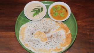 Dosa and Sambar -Chutney Combo
