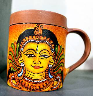MURAL PAINTING CLAY GLASS