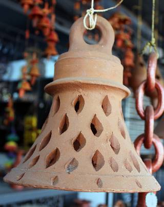 Terracotta Lampshade