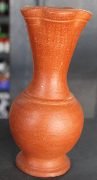 Flower Vase Clay Kerala Responsible Tourism Network