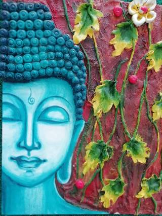 RELIEF WORK BUDDHA