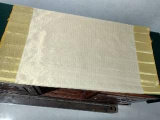 Tissue Check Saree