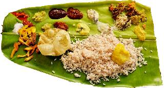 Traditional Kerala Meals