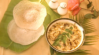 Appam - Mutton Stew Combo