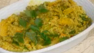 Avial, vegetarian dish