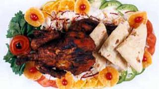 Stuffed Chicken 'Kerala Style'