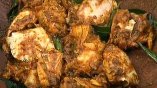 Njandu Varattiyathu or Crab Roast