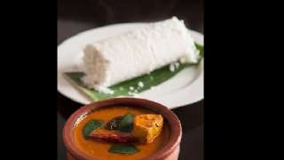 Puttu and Fish Curry