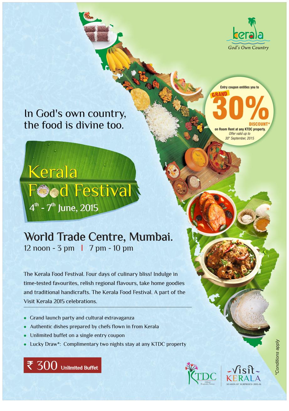 Taste of God's Own Country - Kerala Food Festival at Mumbai