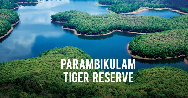 Parambikulam Tiger Reserve & Wildlife Sanctuary at Palakkad